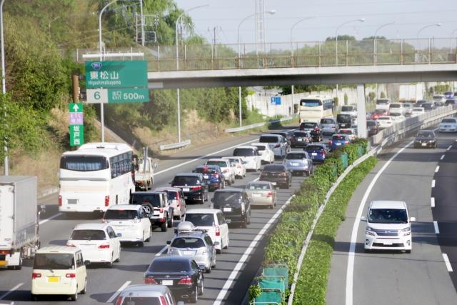 高速道路 LTE 通信速度